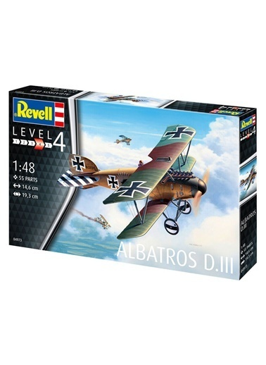 Revell  Maket Albatros D Iıı Vsu04973 Renkli
